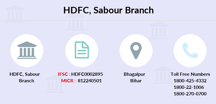 Hdfc-bank Sabour branch