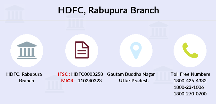 Hdfc-bank Rabupura branch