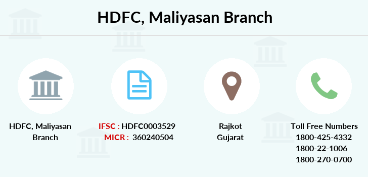 Hdfc-bank Maliyasan branch