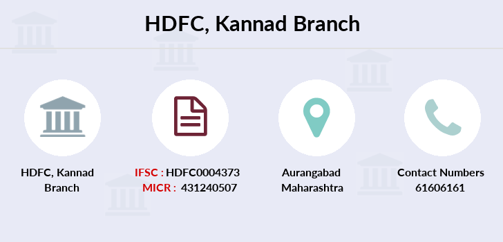 Hdfc-bank Kannad branch