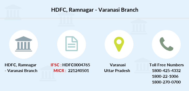 Hdfc-bank Ramnagar-varanasi branch