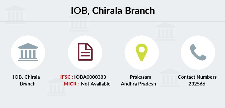 Indian-overseas-bank Chirala branch
