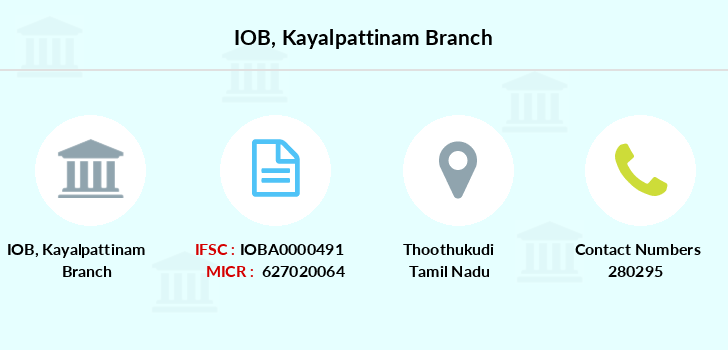 Indian-overseas-bank Kayalpattinam branch