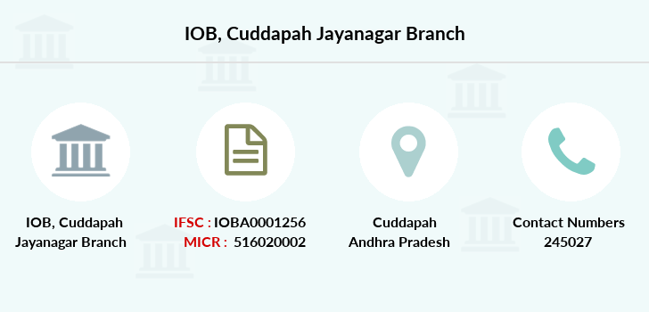 Indian-overseas-bank Cuddapah-jayanagar branch