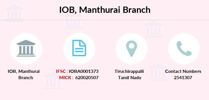 Indian-overseas-bank Manthurai branch