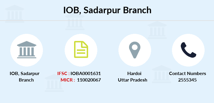 Indian-overseas-bank Sadarpur branch