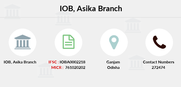 Indian-overseas-bank Asika branch