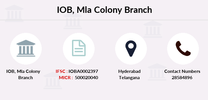 Indian-overseas-bank Mla-colony branch