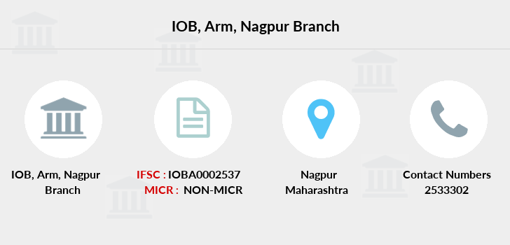 Indian-overseas-bank Arm-nagpur branch
