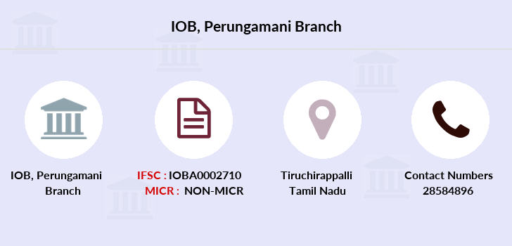 Indian-overseas-bank Perungamani branch