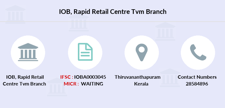 Indian-overseas-bank Rapid-retail-centre-tvm branch