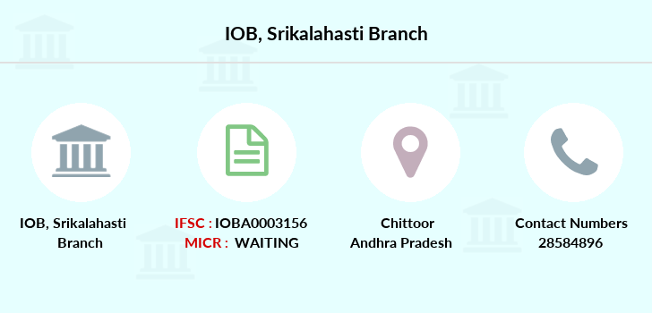 Indian-overseas-bank Srikalahasti branch