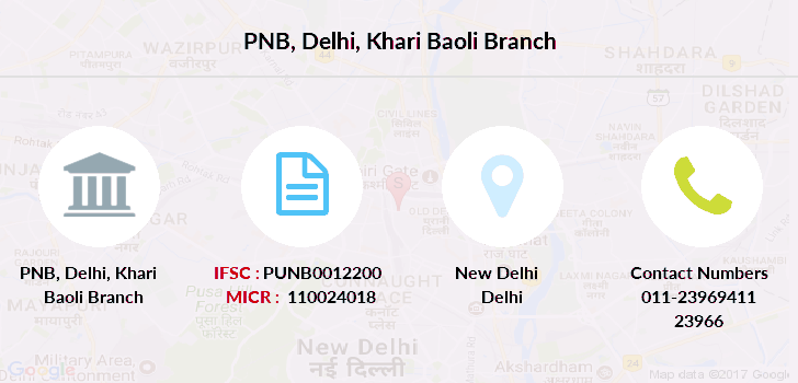 Punjab-national-bank Delhi-khari-baoli branch