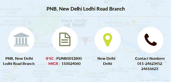 Punjab-national-bank New-delhi-lodhi-road branch