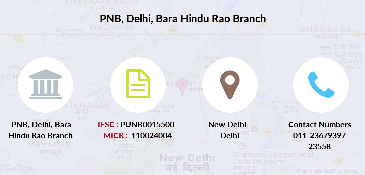 Punjab-national-bank Delhi-bara-hindu-rao branch