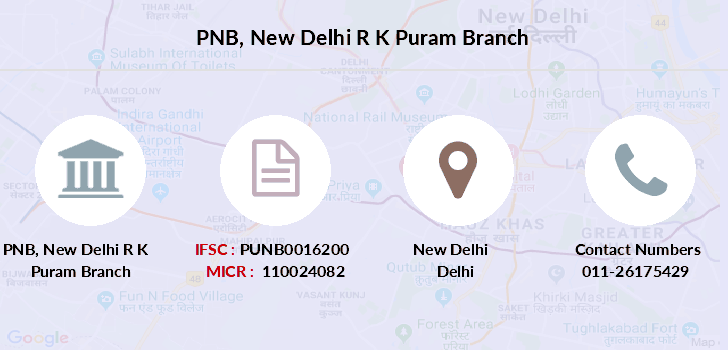 Punjab-national-bank New-delhi-r-k-puram branch