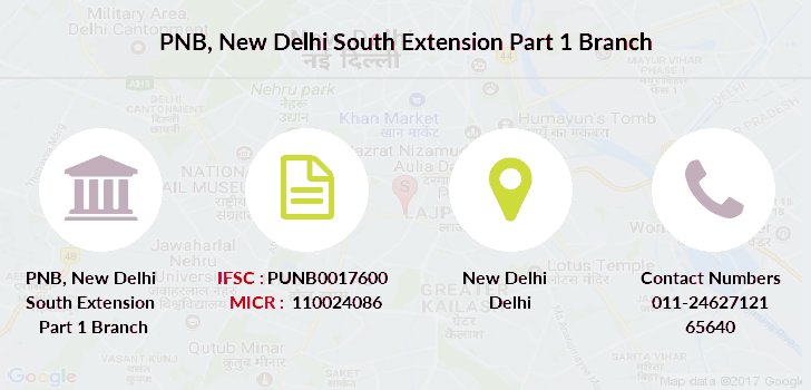 Punjab-national-bank New-delhi-south-extension-part-1 branch