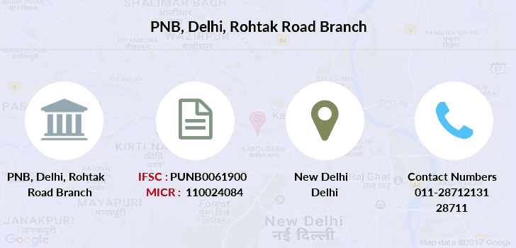 Punjab-national-bank Delhi-rohtak-road branch
