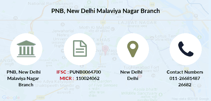 Punjab-national-bank New-delhi-malaviya-nagar branch