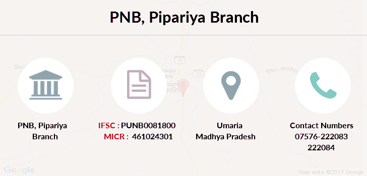 Punjab-national-bank Pipariya branch