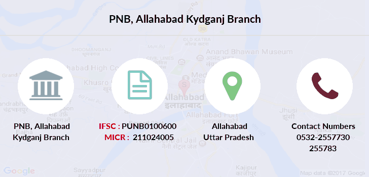 Punjab-national-bank Allahabad-kydganj branch