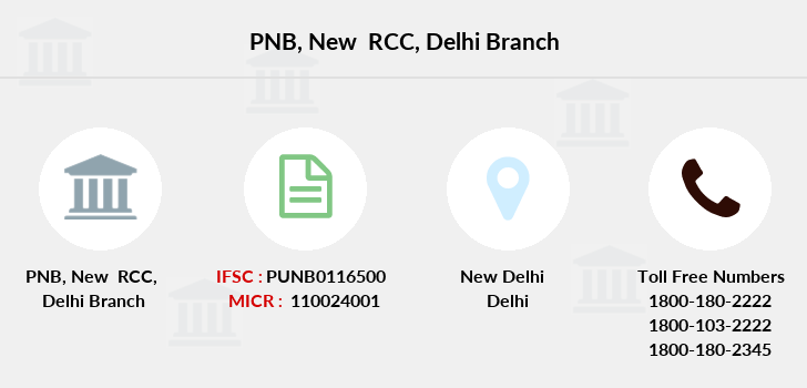 Punjab-national-bank New-rcc-delhi branch
