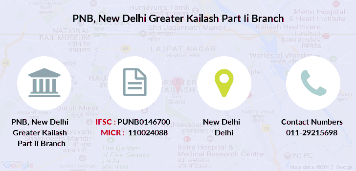 Punjab-national-bank New-delhi-greater-kailash-part-ii branch