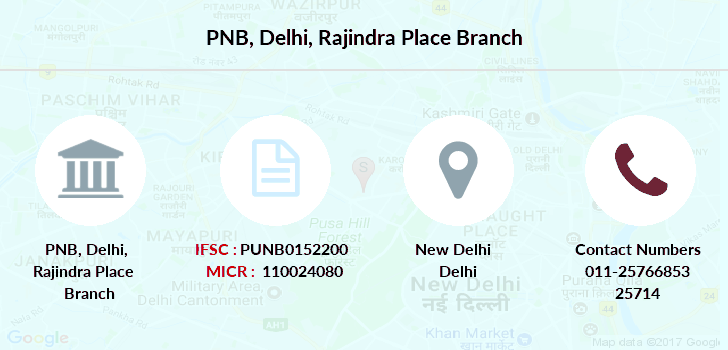 Punjab-national-bank Delhi-rajindra-place branch
