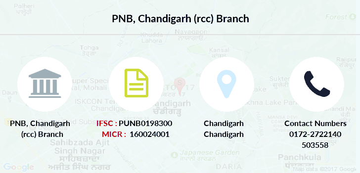 Punjab-national-bank Chandigarh-rcc branch