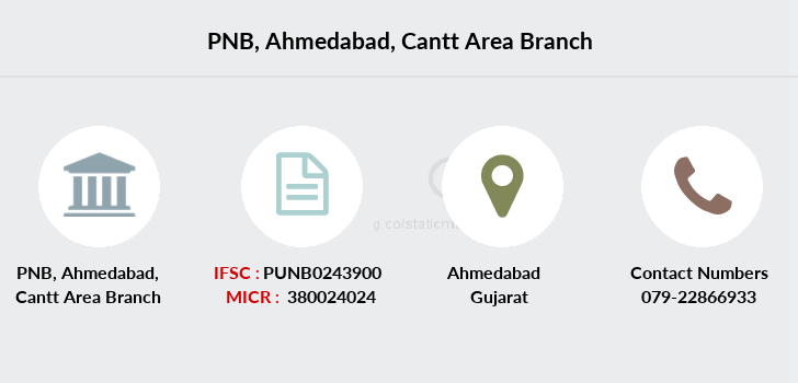 Punjab-national-bank Ahmedabad-cantt-area branch
