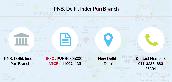 Punjab-national-bank Delhi-inder-puri branch