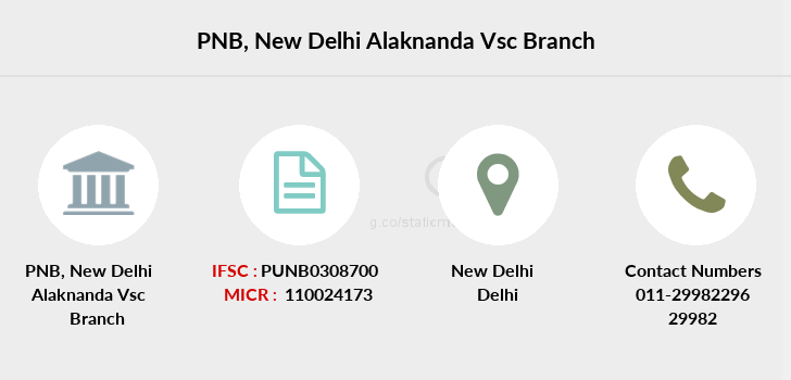 Punjab-national-bank New-delhi-alaknanda-vsc branch