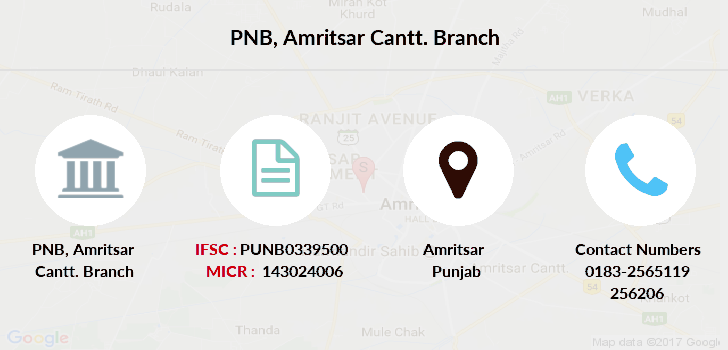 Punjab-national-bank Amritsar-cantt branch