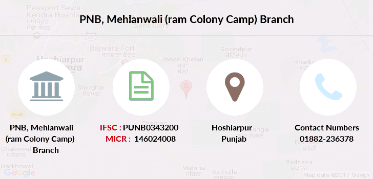 Punjab-national-bank Mehlanwali-ram-colony-camp branch