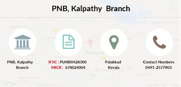 Punjab-national-bank Kalpathy branch