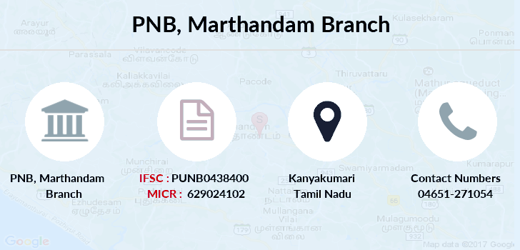 Punjab-national-bank Marthandam branch