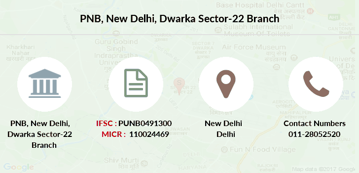 Punjab-national-bank New-delhi-dwarka-sector-22 branch