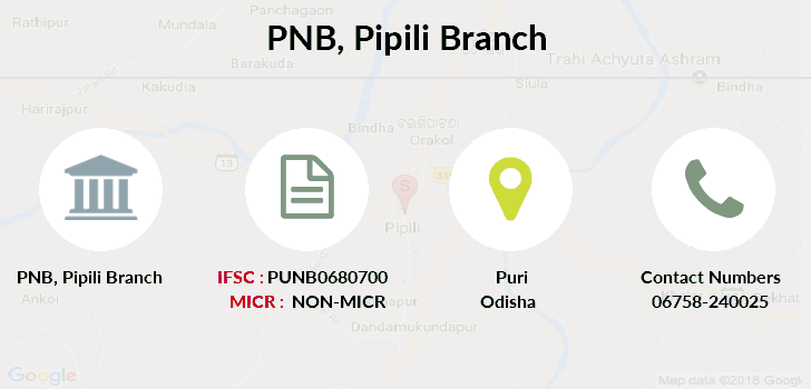 Punjab-national-bank Pipili branch