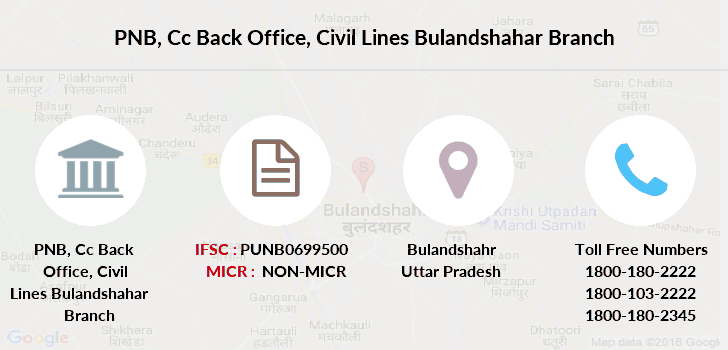 Punjab-national-bank Cc-back-office-civil-lines-bulandshahar branch