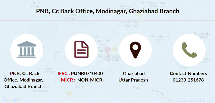 Punjab-national-bank Cc-back-office-modinagar-ghaziabad branch