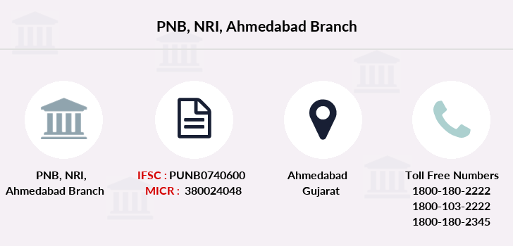 Punjab-national-bank Nri-ahmedabad branch