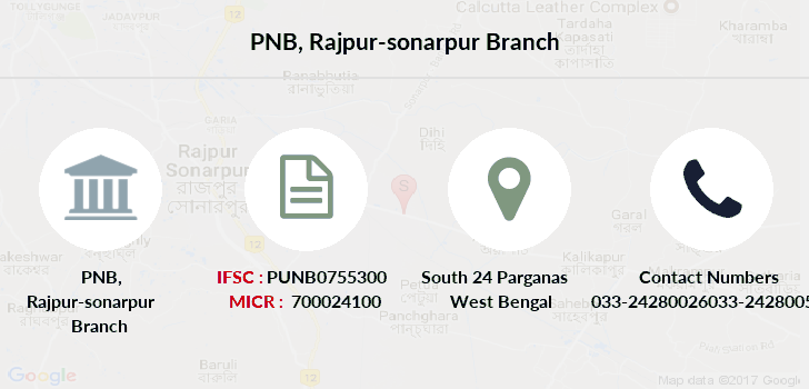 Punjab-national-bank Rajpur-sonarpur branch