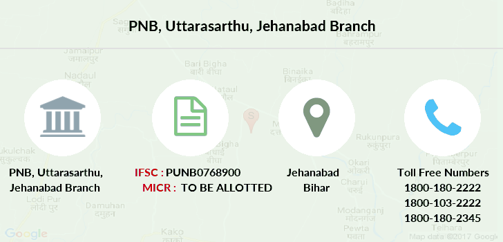 Punjab-national-bank Uttarasarthu-jehanabad branch