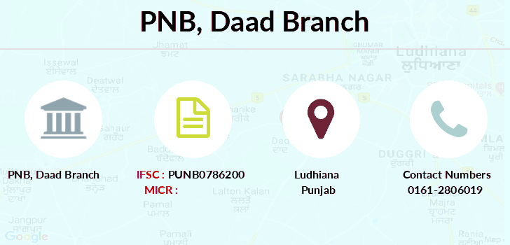 Punjab-national-bank Daad branch