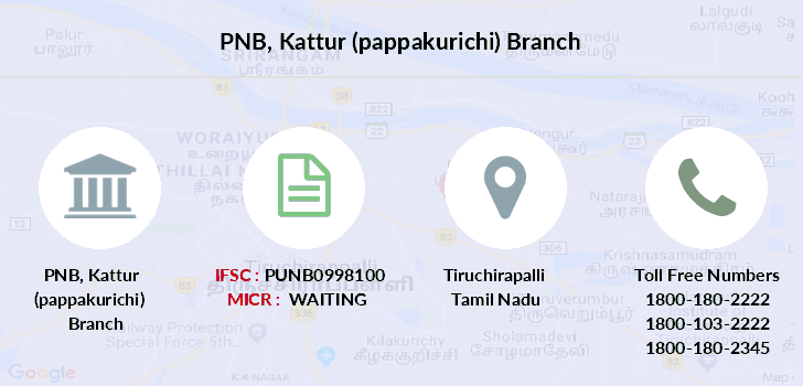 Punjab-national-bank Kattur-pappakurichi branch