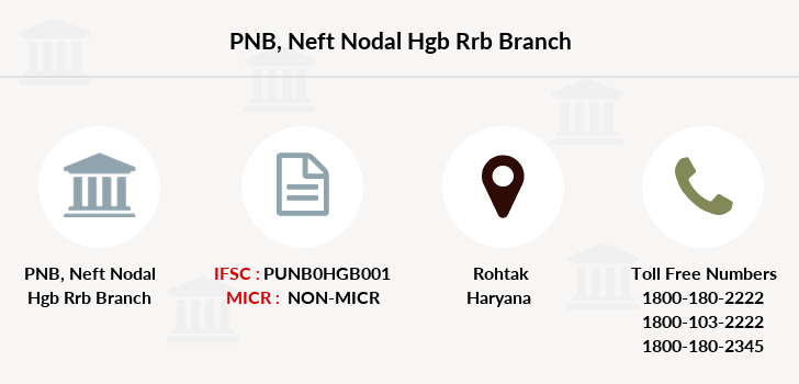Punjab-national-bank Neft-nodal-hgb-rrb branch