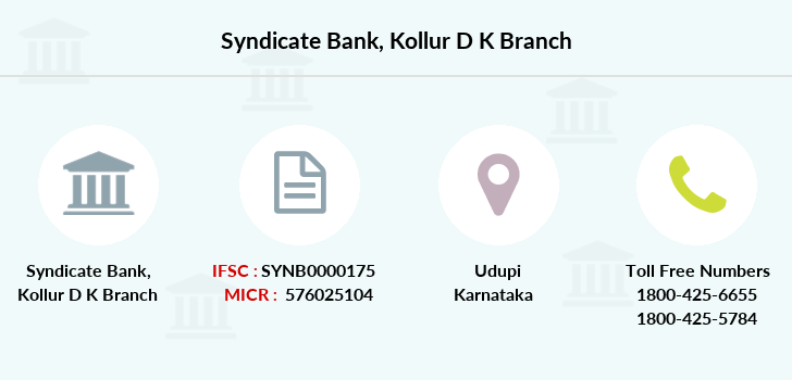 Syndicate-bank Kollur-d-k branch