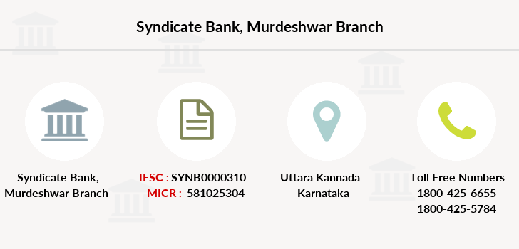 Syndicate-bank Murdeshwar branch
