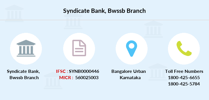 Syndicate-bank Bwssb branch