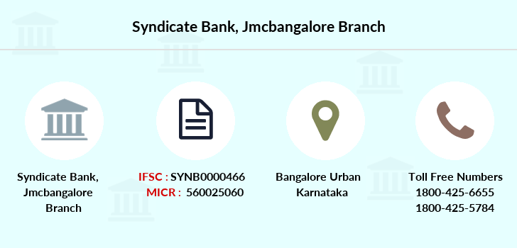Syndicate-bank Jmcbangalore branch